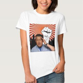 Hugo Chavez - Hugo saluda estilo Poleras