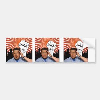 Hugo Chavez - Hugo Salutes style Bumper Sticker