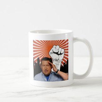 Hugo Chavez - Hugo Salutes style Coffee Mug