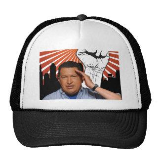 Hugo Chavez - Hugo Salutes style Hats