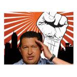 Hugo Chavez - Hugo Salutes style Post Cards