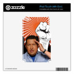 Hugo Chavez - Hugo Salutes style Decal For iPod Touch 4G