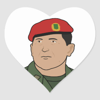 Hugo Chavez - Hugo the Red Hat Cartoon style Stickers