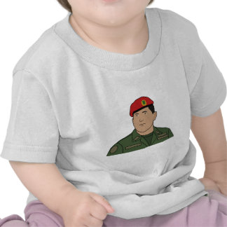 Hugo Chavez - Hugo the Red Hat Cartoon style Tshirt