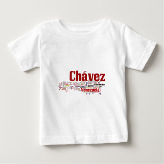 Hugo Chavez - Many Colorful Words style Baby T-Shirt