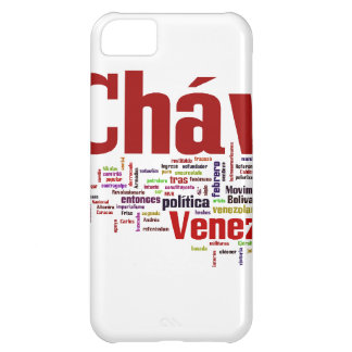 Hugo Chavez - Many Colorful Words style Cover For iPhone 5C