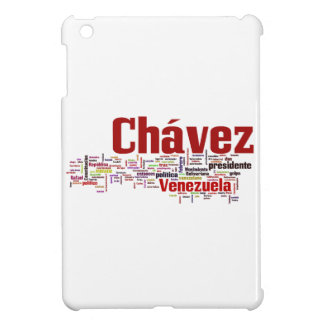 Hugo Chavez - Many Colorful Words style Cover For The iPad Mini