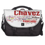 Hugo Chavez - Many Colorful Words style Laptop Commuter Bag