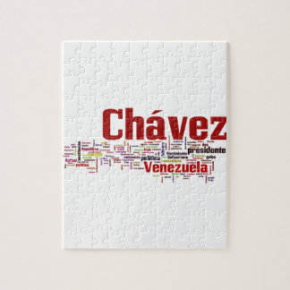 Hugo Chavez - Many Colorful Words style Puzzles