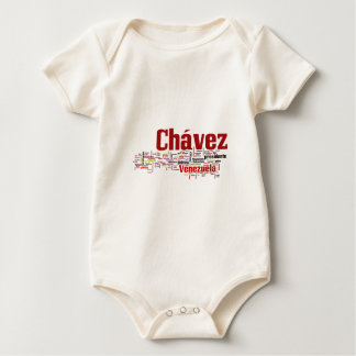 Hugo Chavez - Many Colorful Words style Romper