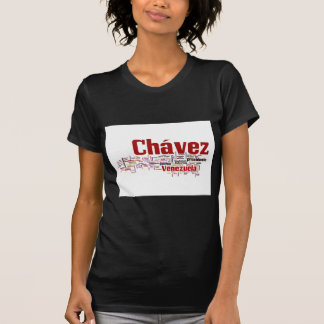 Hugo Chavez - Many Colorful Words style T Shirt