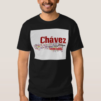 Hugo Chavez - Many Colorful Words style T-shirt
