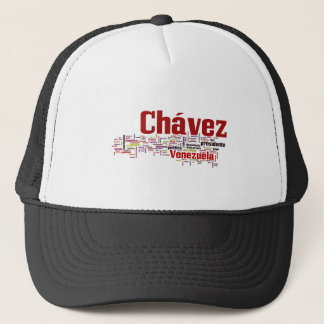 Hugo Chavez - Many Colorful Words style Trucker Hat