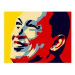 Hugo Chavez - Obama Hope style Post Cards