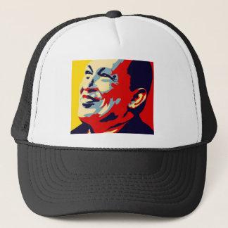 Hugo Chavez - Obama Hope style Trucker Hat
