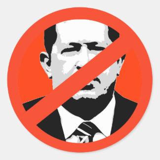 Hugo Chavez Pegatina Redonda