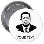 Hugo Chavez Pinback Button
