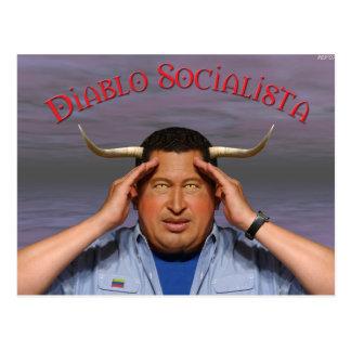 Hugo Chavez Postcard