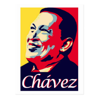 Hugo Chávez Postcard