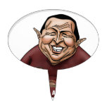 Hugo Chavez - Problem America style Cake Topper