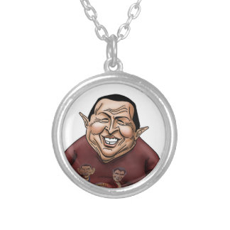 Hugo Chavez - Problem America style Personalized Necklace