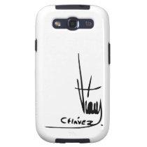 Hugo Chavez' Signature Galaxy S3 Covers