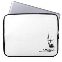 Hugo Chavez' Signature Laptop Sleeves