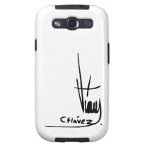 Hugo Chavez' Signature Samsung Galaxy SIII Cover