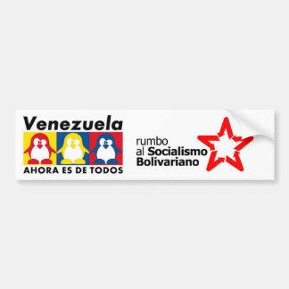 Hugo Chavez Venezuela Bumper Sticker