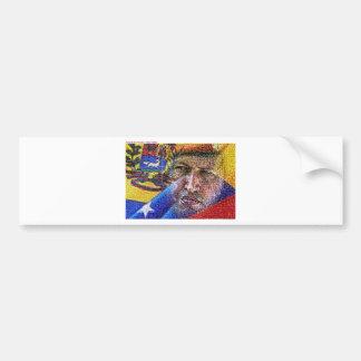 Hugo Chavez - Venezuela Pegatina Para Auto