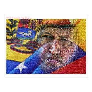 Hugo Chavez – Venezuela. Postcard