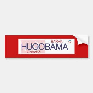 Hugo Chavez y Barack Obama - cuál es el Diff Pegatina Para Auto