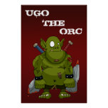 Hugo el poster de Orc