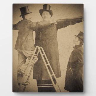 Hugo la foto gigante de Wendt del monstruo del cir Placas Con Foto