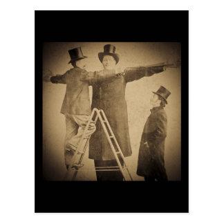 Hugo la foto gigante de Wendt del monstruo del Tarjetas Postales