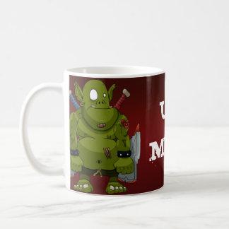 Hugo la taza del Ug de Orc