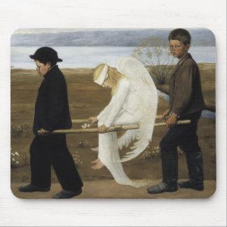 Hugo Simberg - el ángel herido Tapete De Raton