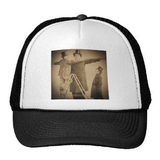 Hugo the Giant Vintage Circus Freak Wendt Photo Trucker Hat