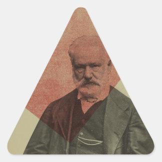 Hugo Triangle Sticker