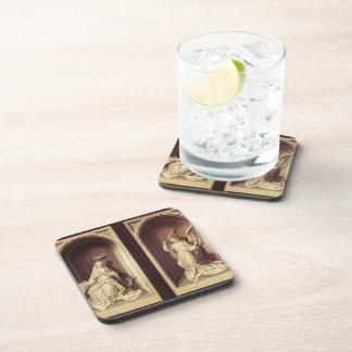 Hugo van der Goes- The Portinari Triptych (Close) Coasters