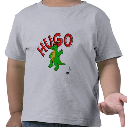 HugoDasKrokodil - niño t Shirt HugoPuzzel - Camiseta