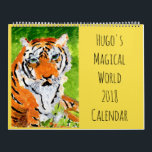 "Hugo&#39;s Magical World 2018 Wall Calendar<br><div class=""desc"">Spend your whole year in Hugo&#39;s Magical World! A stunning--well,  at least interesting--image for each month. Guaranteed to be unlike any calendar you&#39;ve ever had!</div>"
