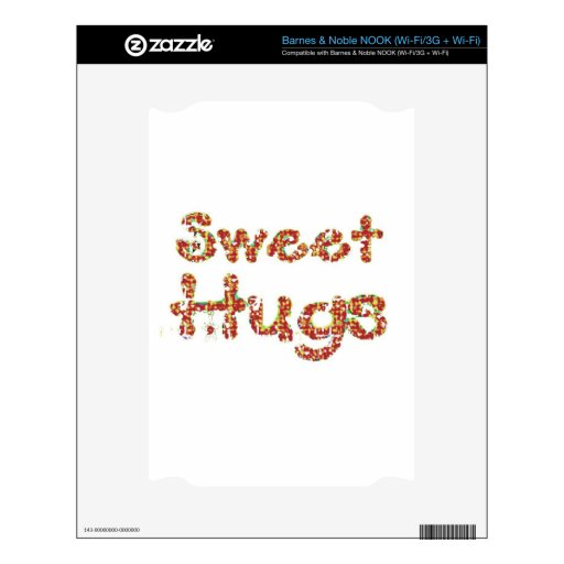 hugs6.jpg dulce NOOK calcomanías