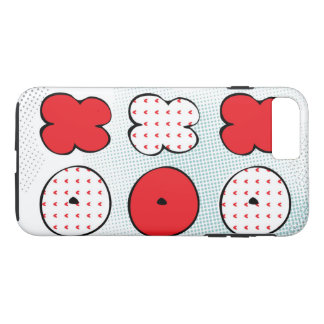 """Hugs and kisses, """"Be my Valentine"""" iPhone 8 Plus/7 Plus Case"""
