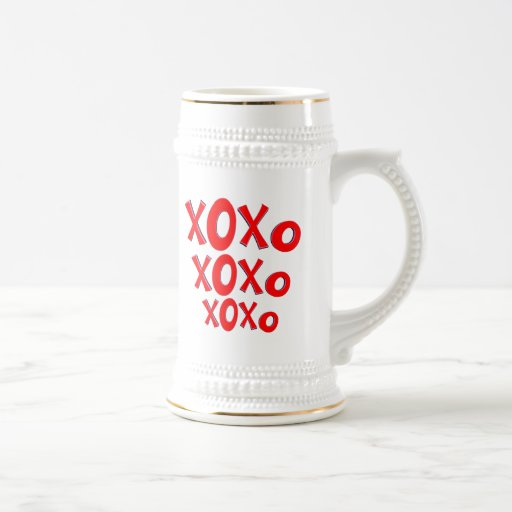 Hugs And Kisses Coffee Mugs
