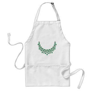 Hugs and Kisses Emerald Necklace Adult Apron