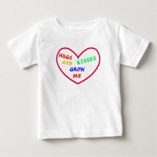 Hugs And Kisses Heart, Baby Fine Jersey T Baby T-Shirt