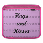 Hugs and Kisses iPad Sleeve