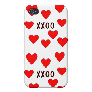 Hugs and Kisses iPhone 4/4S Case