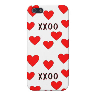 Hugs and Kisses iPhone SE/5/5s Case